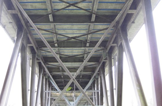 Mohaka River Bridge FRP